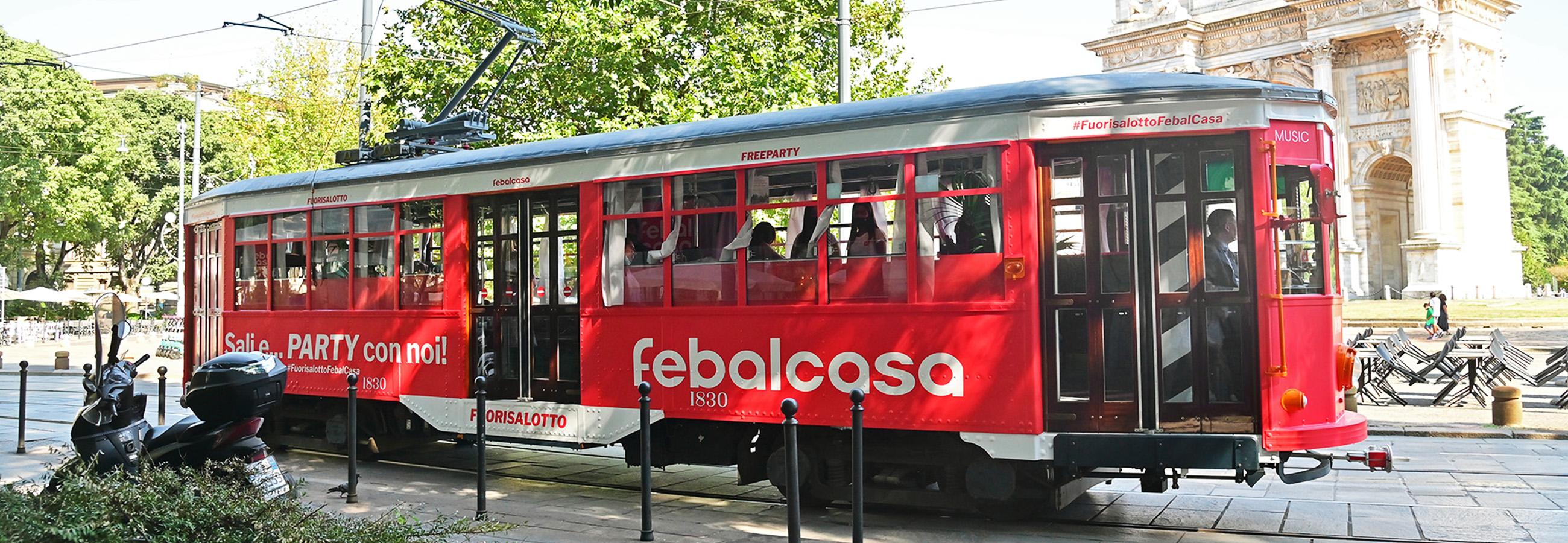 Tram fullwrap Milano Febal Casa
