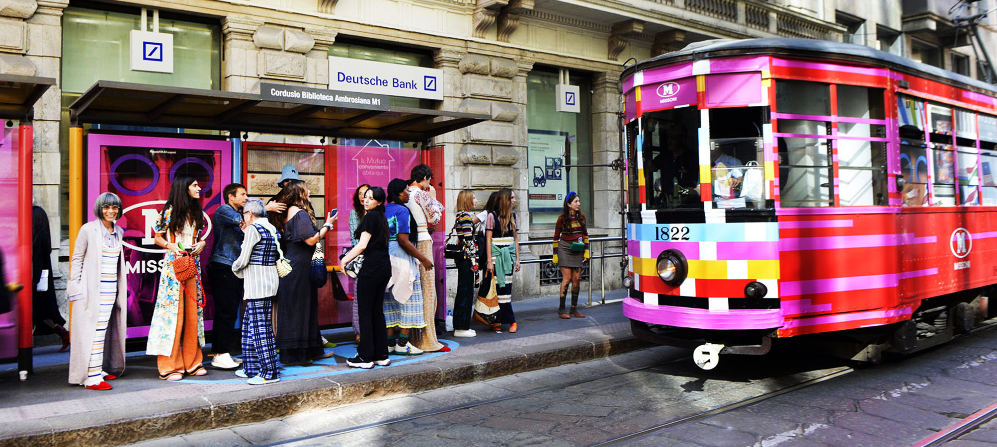 IGPDecaux Creative Solutions campagna OOH per M Missoni