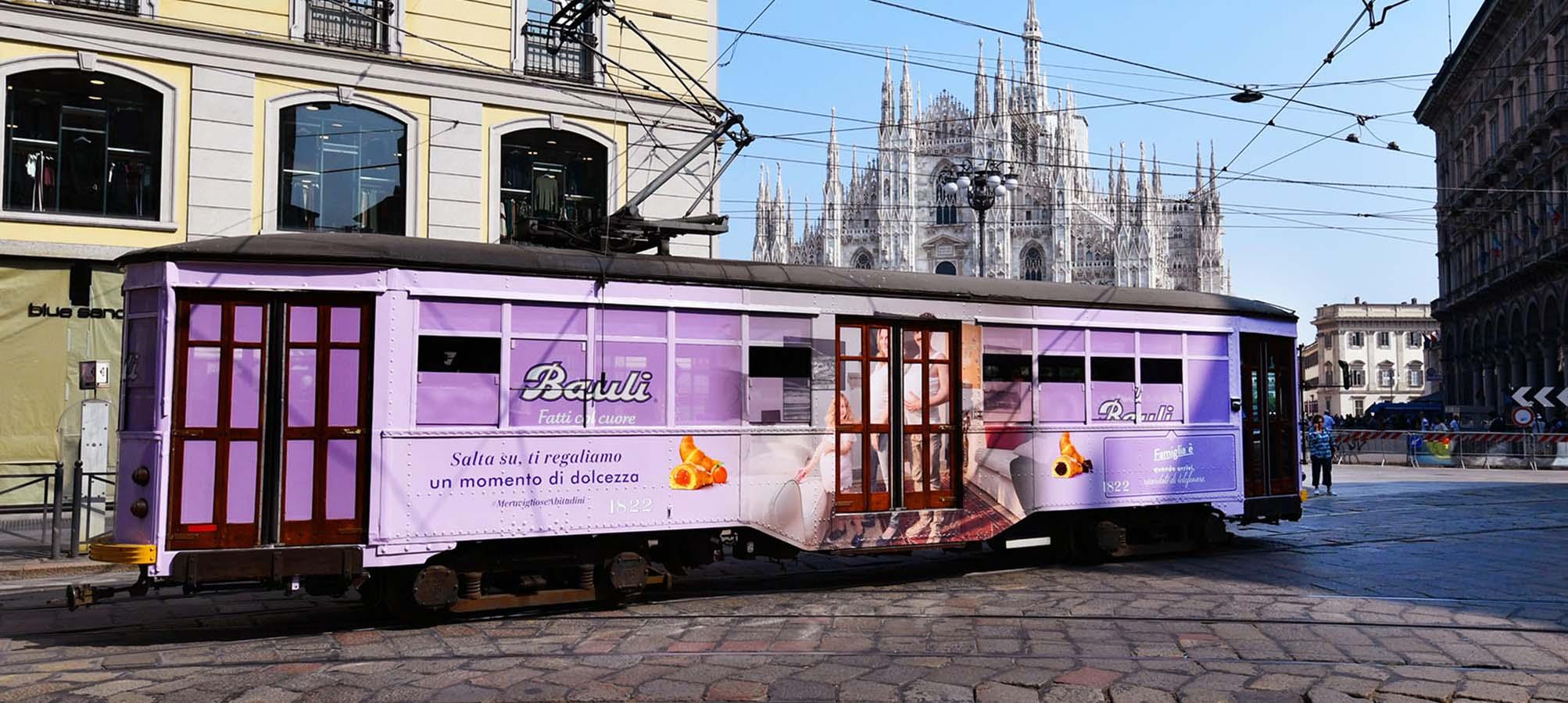 IGPDecaux Milano tram speciale Bauli