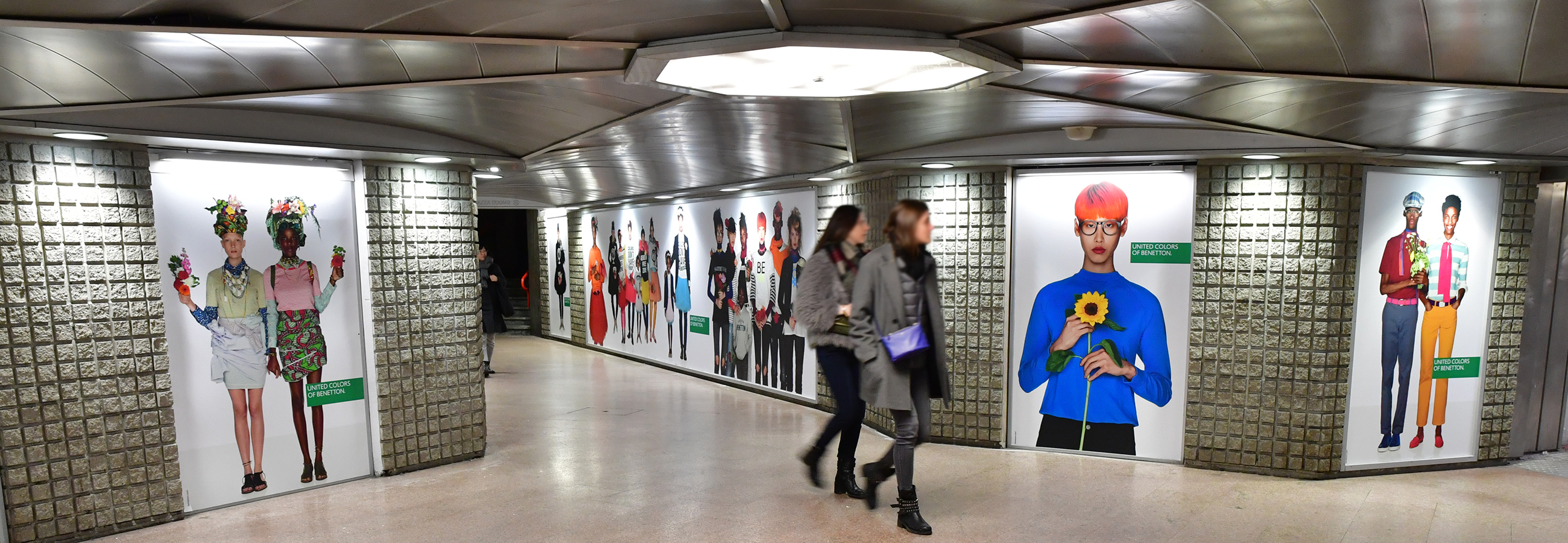 UNITED COLORS OF BENETTON station domination