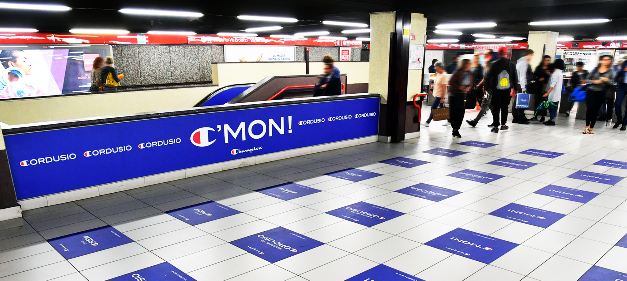 Station Domination IGPDecaux Milano per Champion
