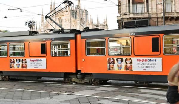 Side Banner IGPDecaux campagna OOH Diamo spazio alla fiducia