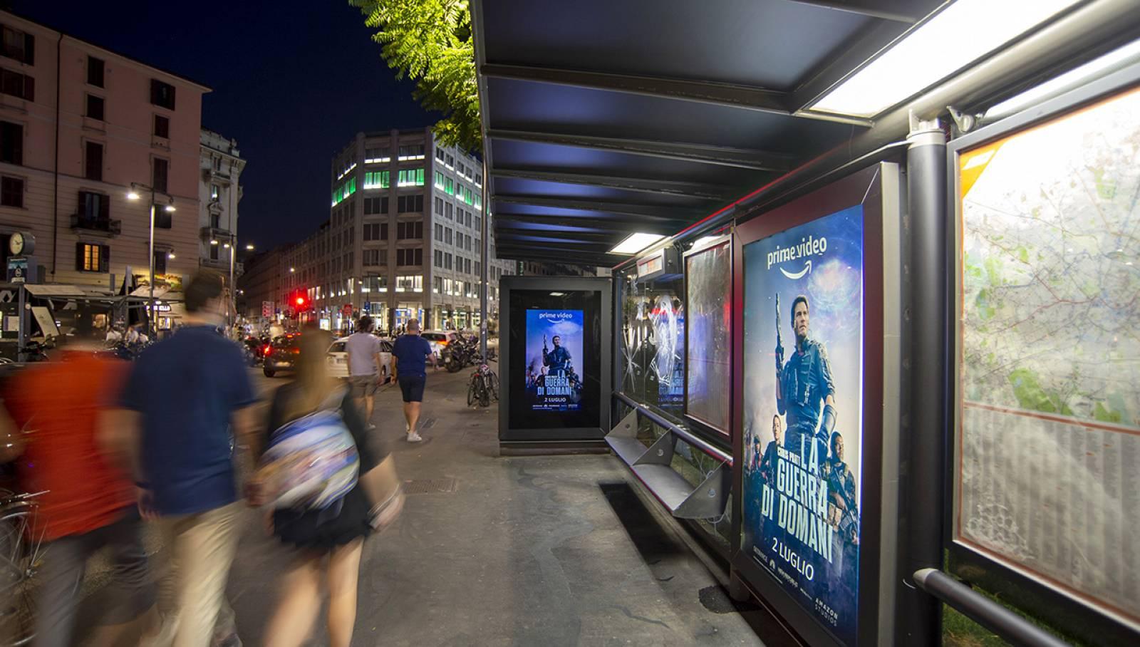 IGPDecaux Milano Brand pensilina per Amazon Prime Video