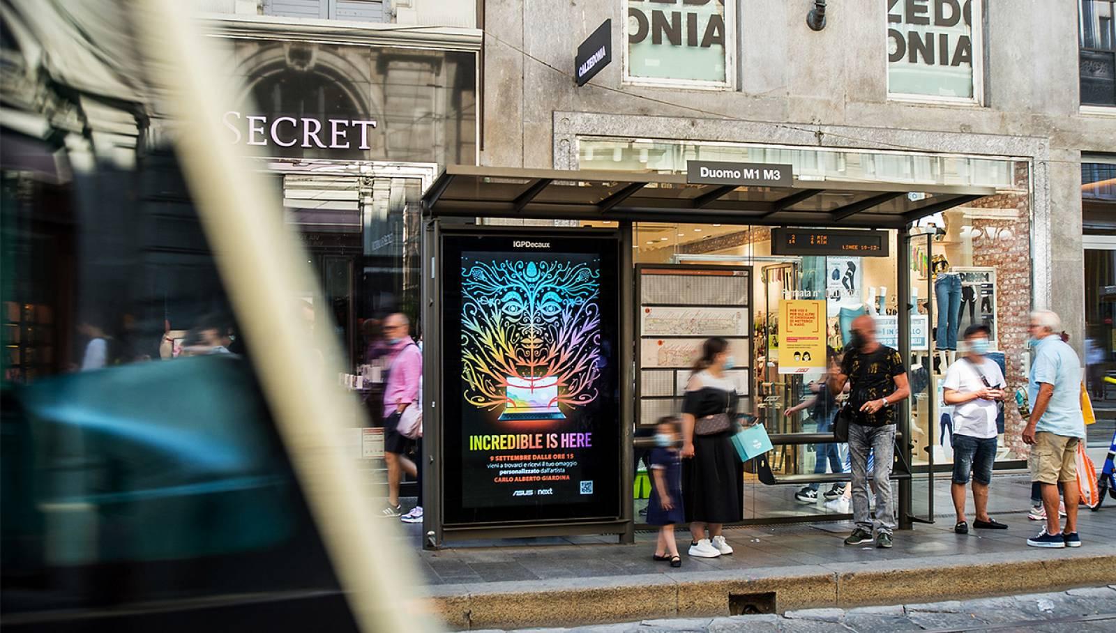 Pensiline digitali Milano ASUS