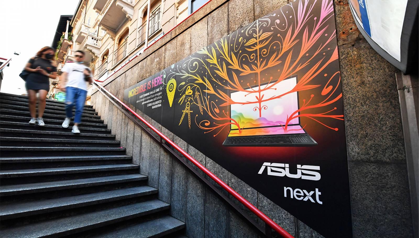 Station Domination Moscova Milano ASUS
