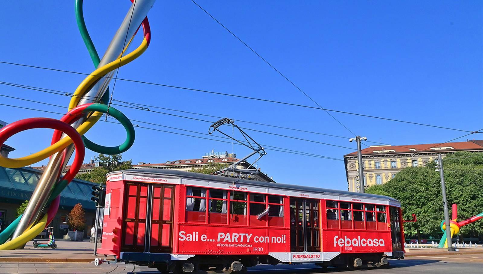 Tram Creative Solutions Milano per Febal Casa