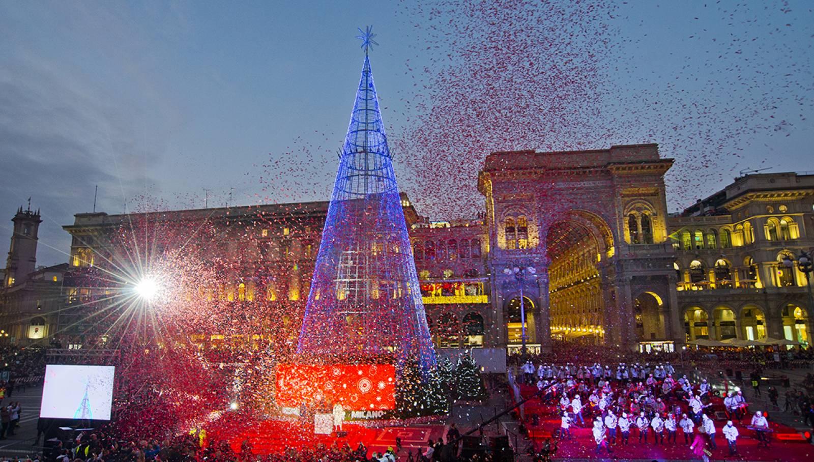Inaugurazione Albero di Natale IGPDecaux per Esselunga Milano 2019