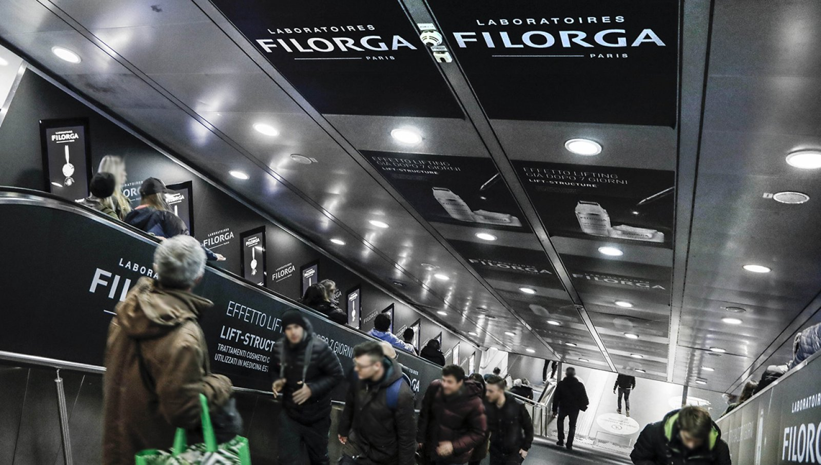 Filorga Digital Escalator Termini IGPDecaux