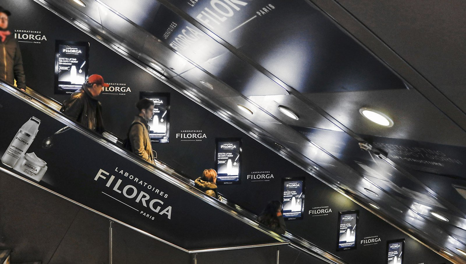 Filorga Digital Escalator TerminiIGPDecaux
