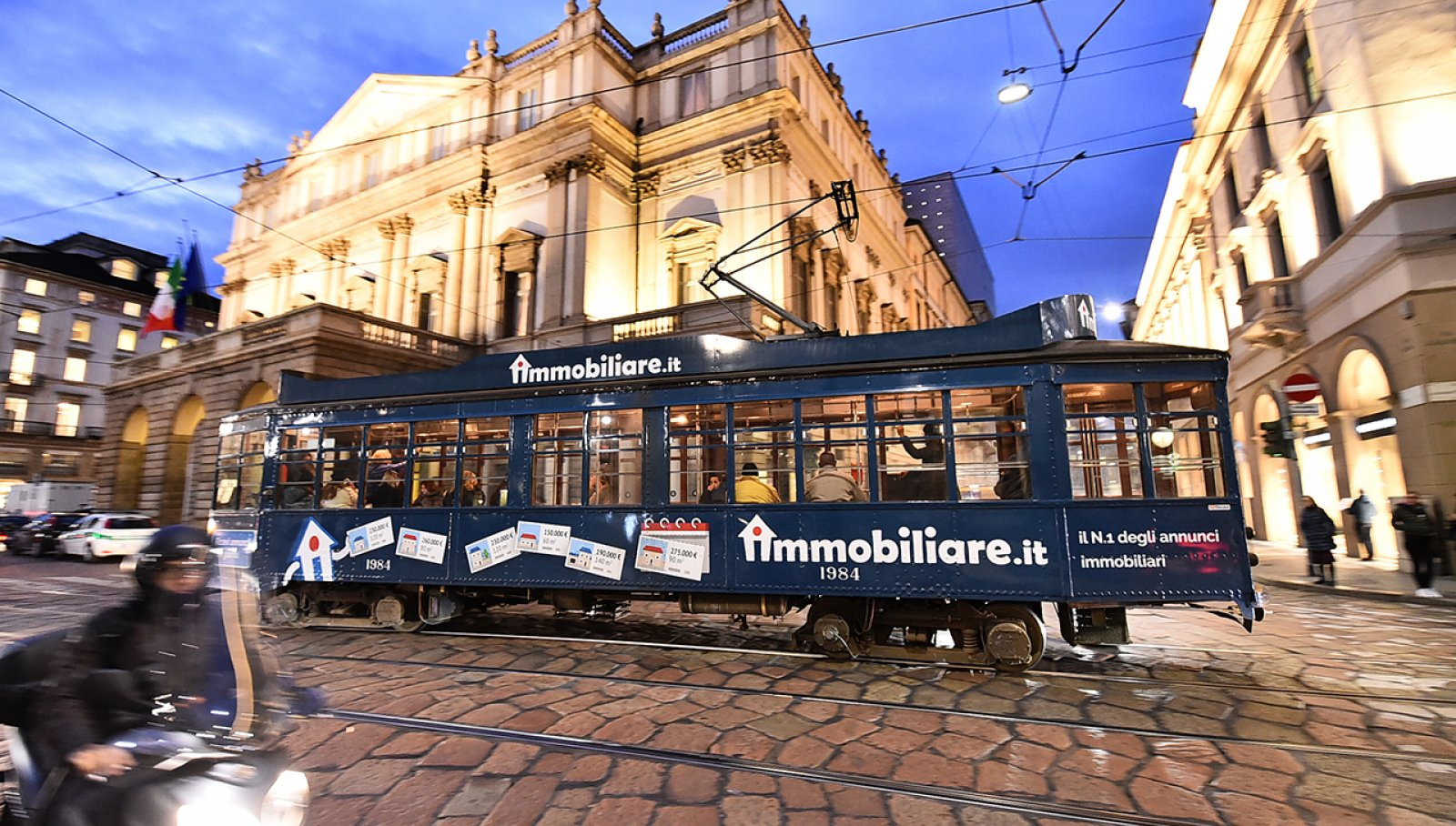 IMMOBILIARE-IT on the road con la sua prima campagna su rotaia