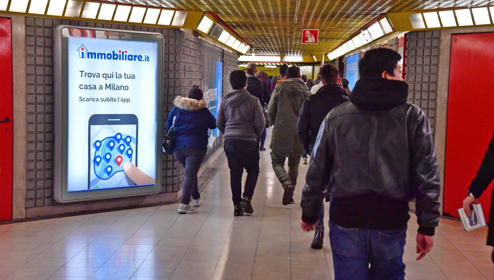 Immobiliare.it MetroMupi Milano @IGPDecaux