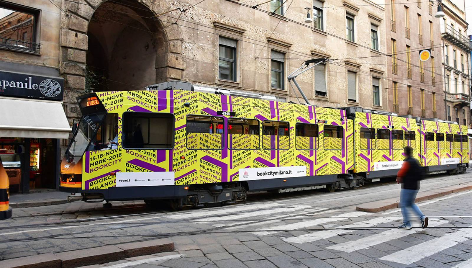 BookCity Milan IGPDecaux Wrapped Vehicles