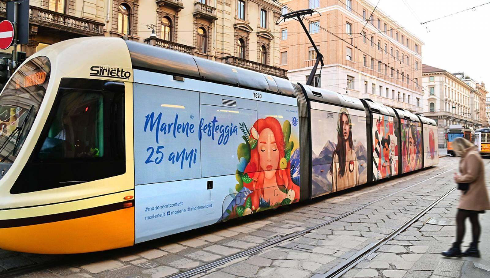 OOH IGPDecaux Milano Full-Wrap per Marlene