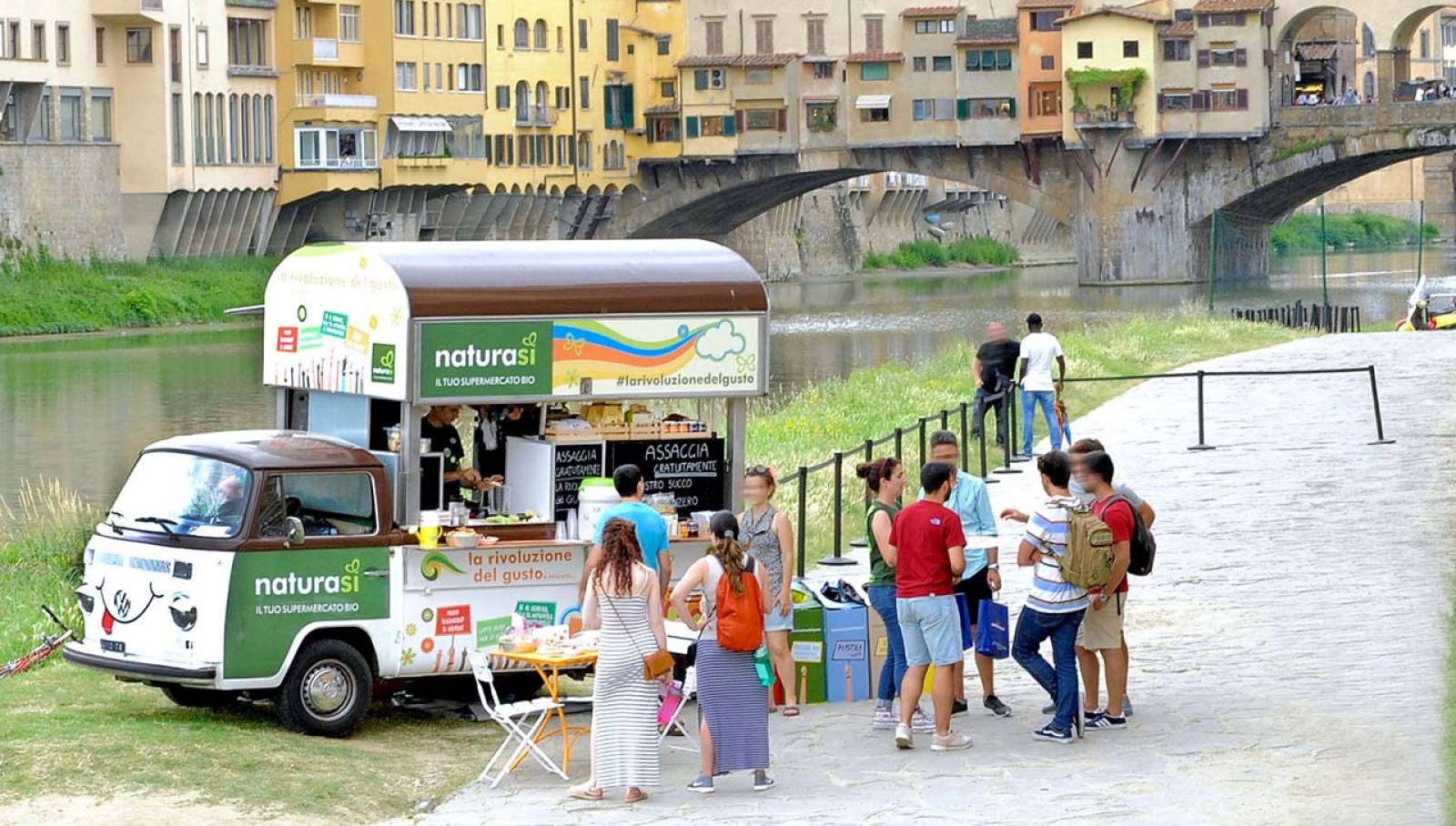 IGPDecaux Firenze Bio Van per NaturaSì