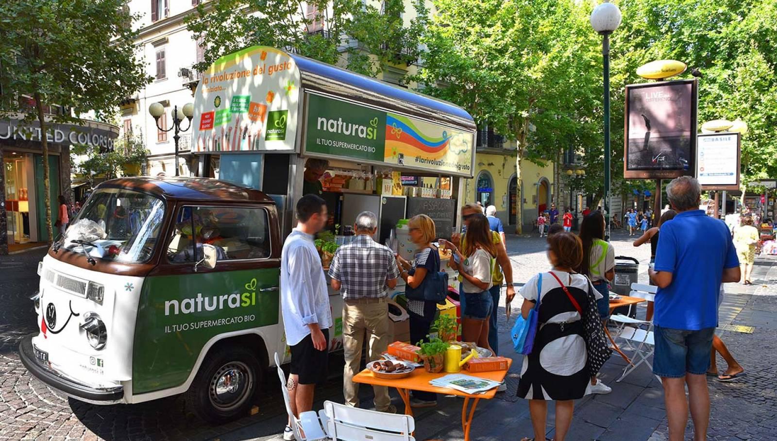 IGPDecaux Napoli Bio Van per NaturaSì