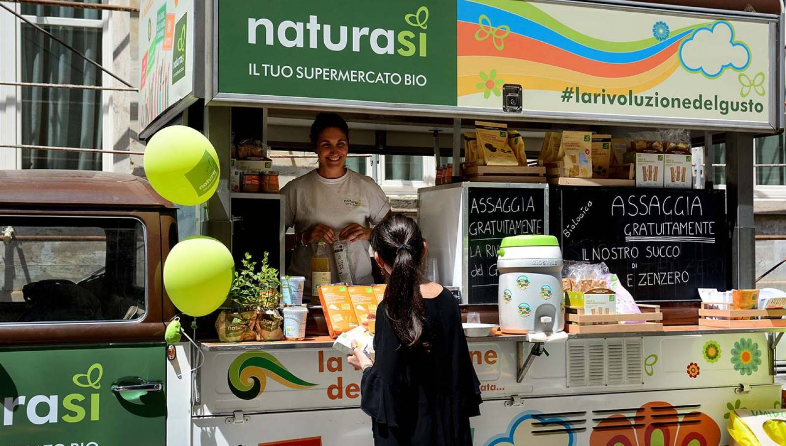 IGPDecaux Torino Bio Van per NaturaSì