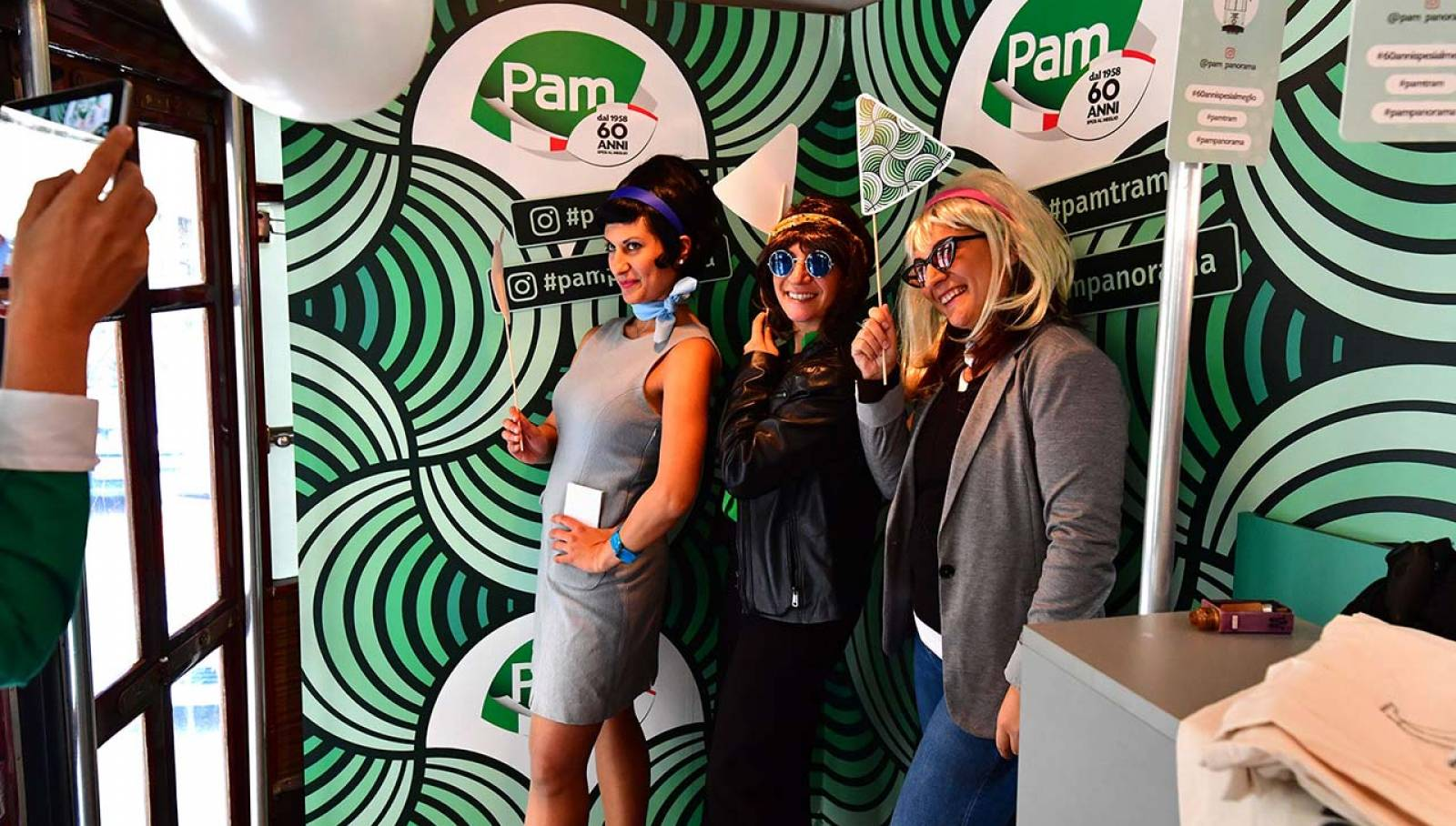 Tram Pam IGPDecaux Milan for Gruppo Pam