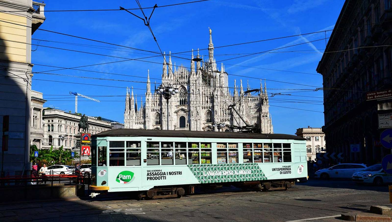 Special tram IGPDecaux Milan