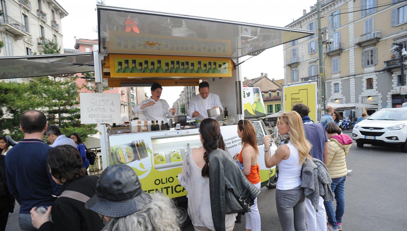 Milan Food week food tasting- IGPDecaux