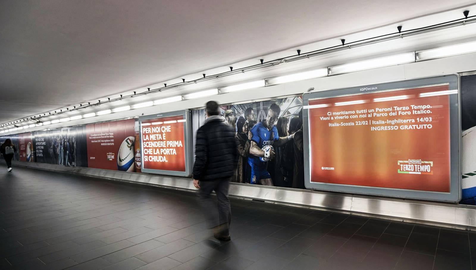 IGPDecaux Roma Station Domination per Peroni