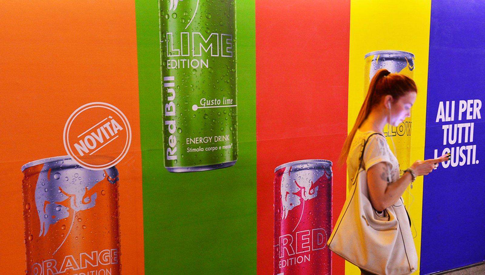 Pubblicità metro Milano circuito a copertura landscape per Red Bull IGPDecaux