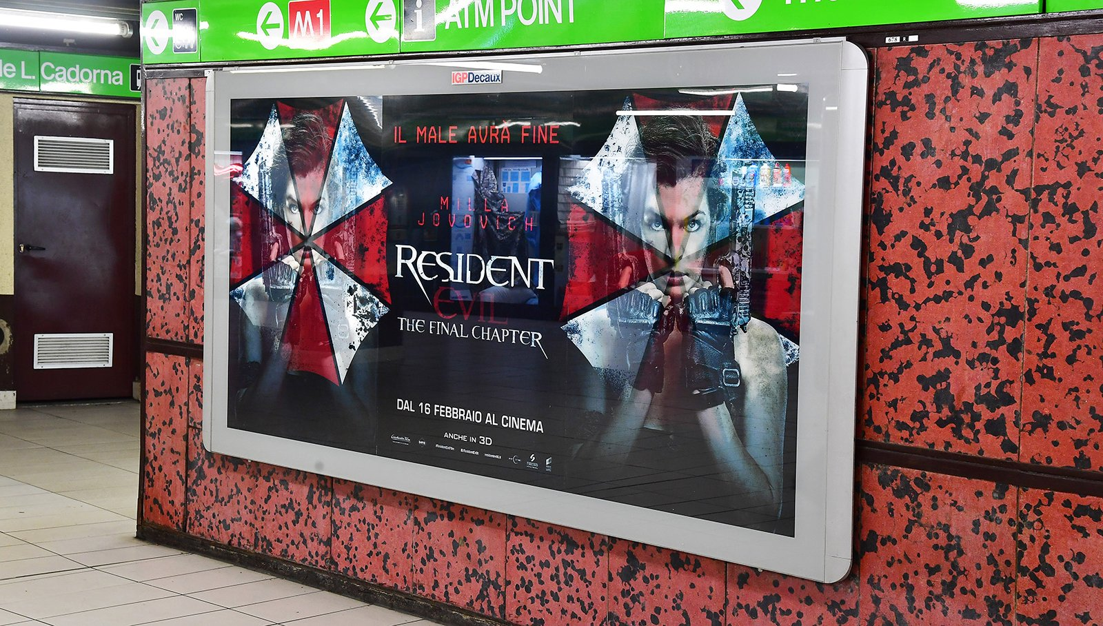 resident_evil - lenticular metro milano igpdecaux creative solutions