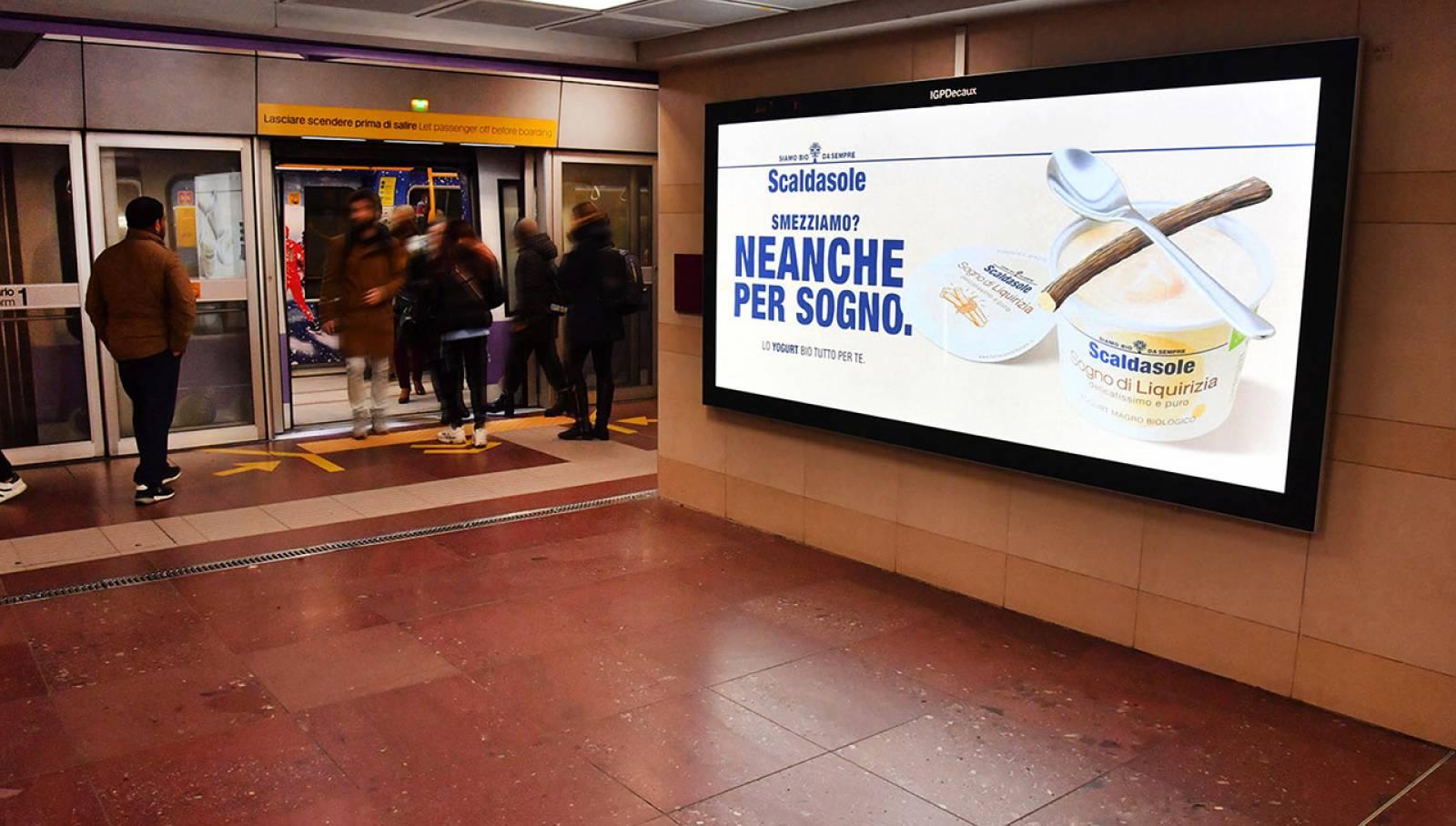 IGPDecaux Underground coverage Newtork Milan for Scaldasole