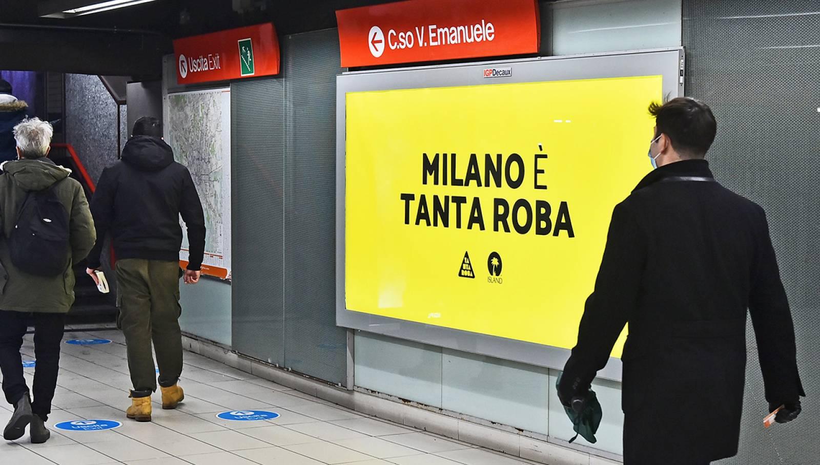 IGPDecaux Milano Station Domination per Island Records