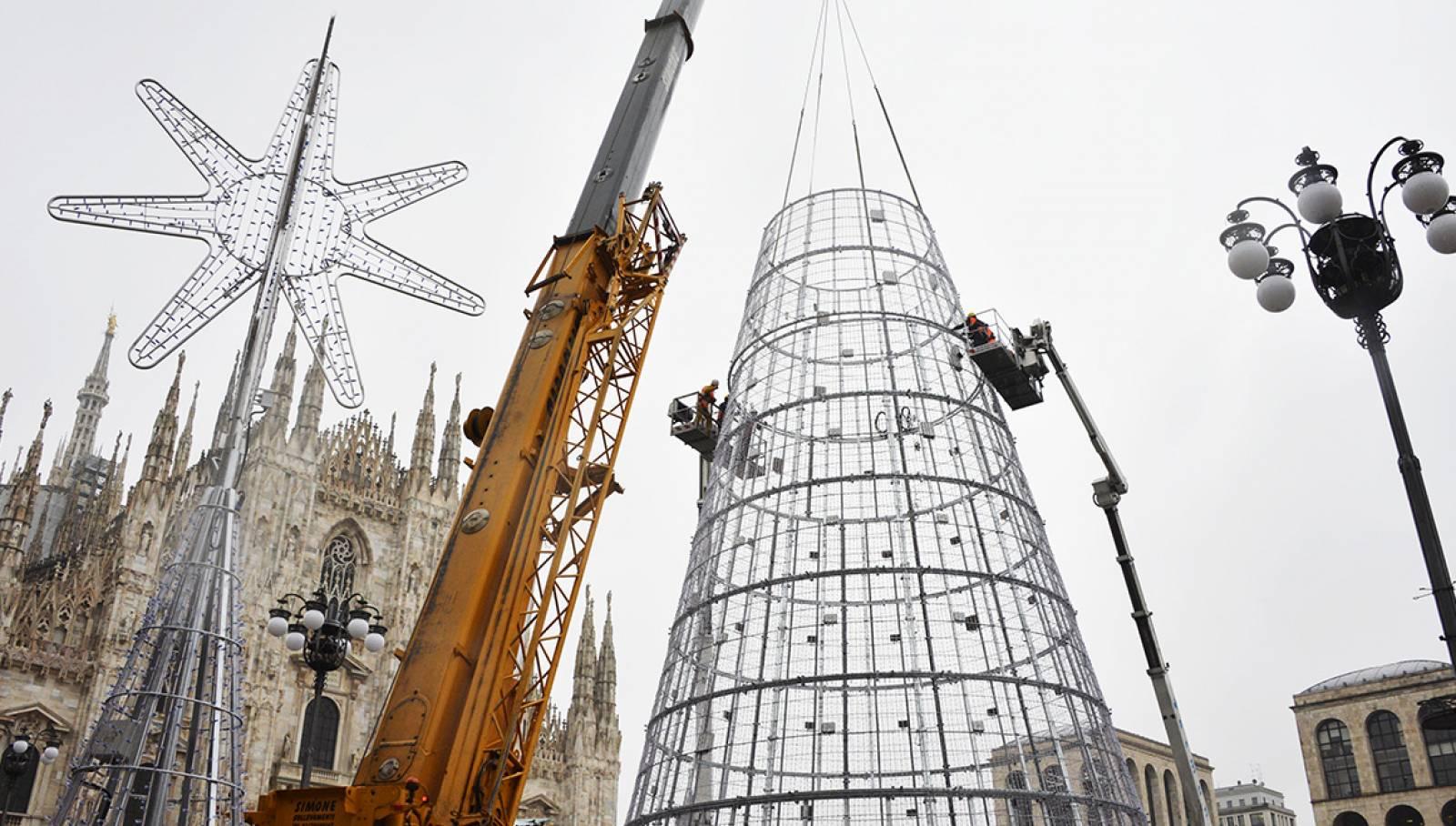 IGPDecaux Milano albero di Natale EsselungaNatale 2019