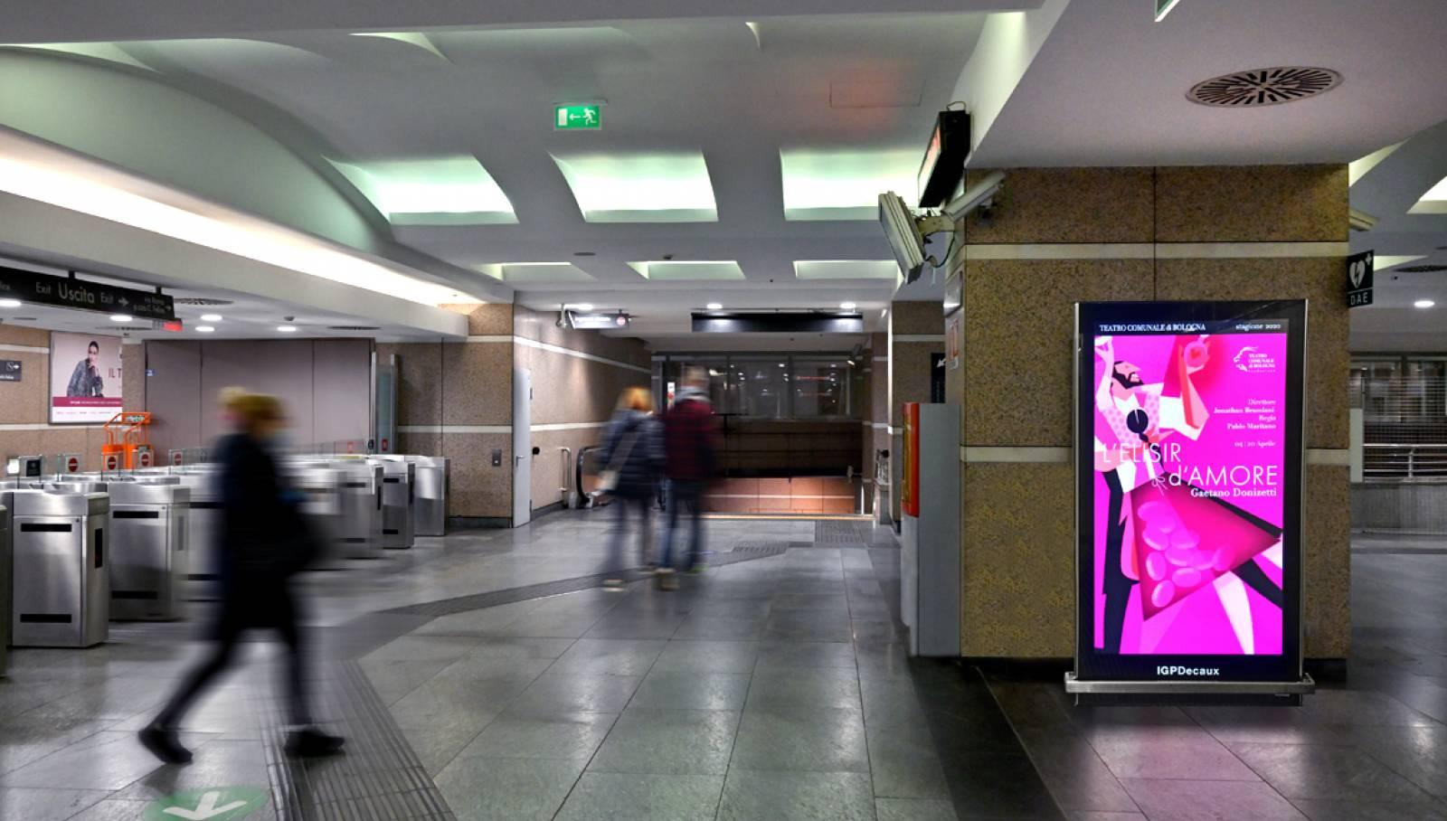 IGPDecaux Network Vision metropolitana Torino