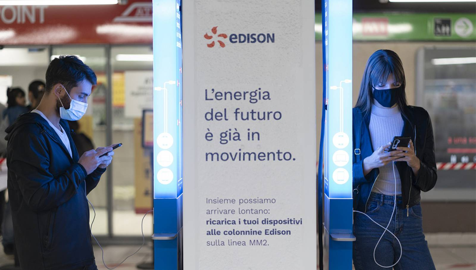 Edison Charging Station IGPDecaux metropolitana