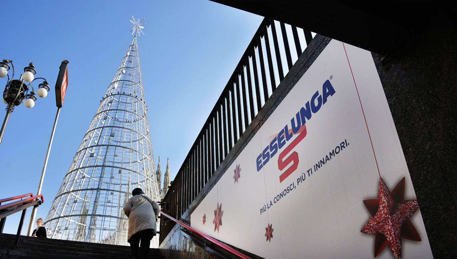 IGPDecaux Christmas Tree 2019 for Esselunga in Milan
