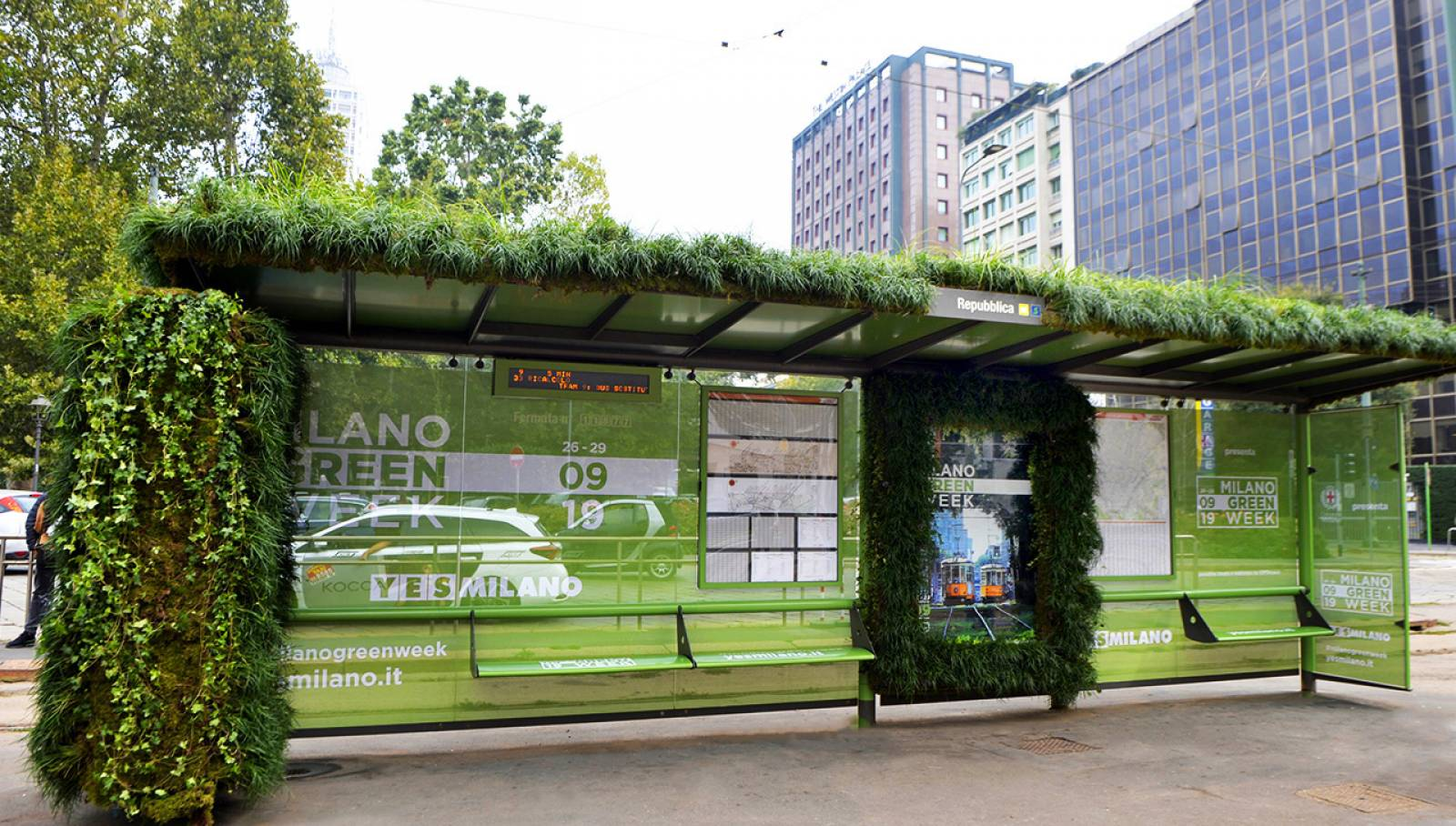 Brand pensilina Green Week 2019 IGPDecaux Creative Solutions