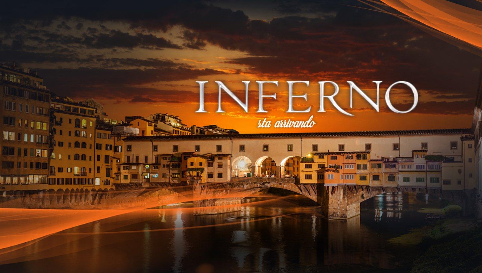 IGPDecaux LIVE comunicazione esterna per Inferno a Firenze