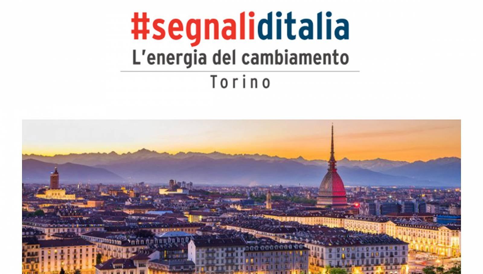 Segnali d'Italia L'energia del cambiamento Torino