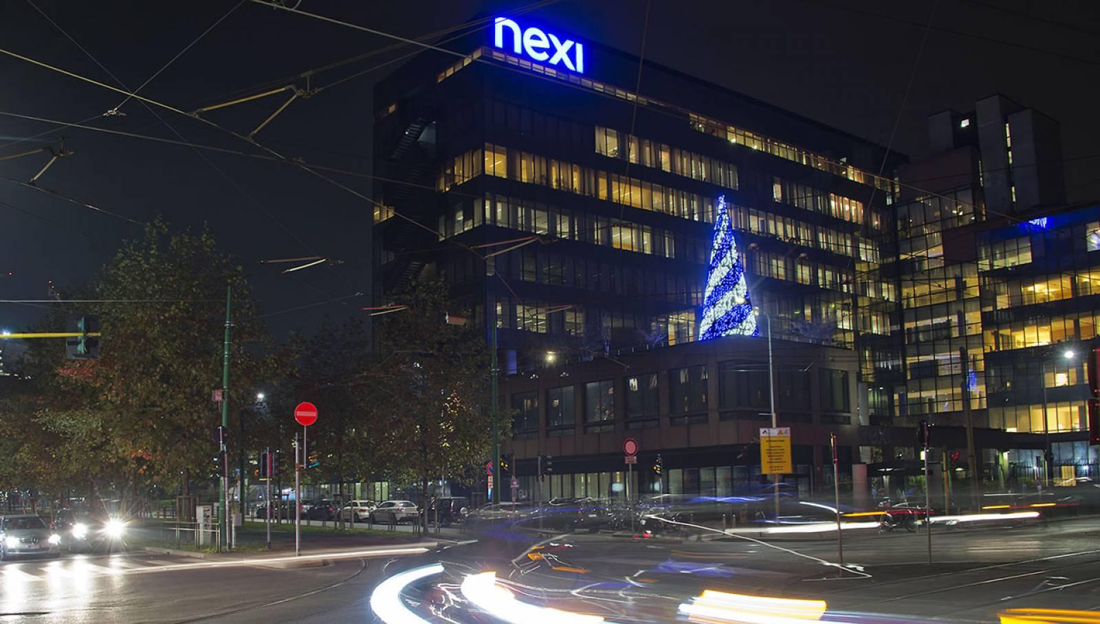 Natale a Milano IGPDecaux illuminazione per Nexi