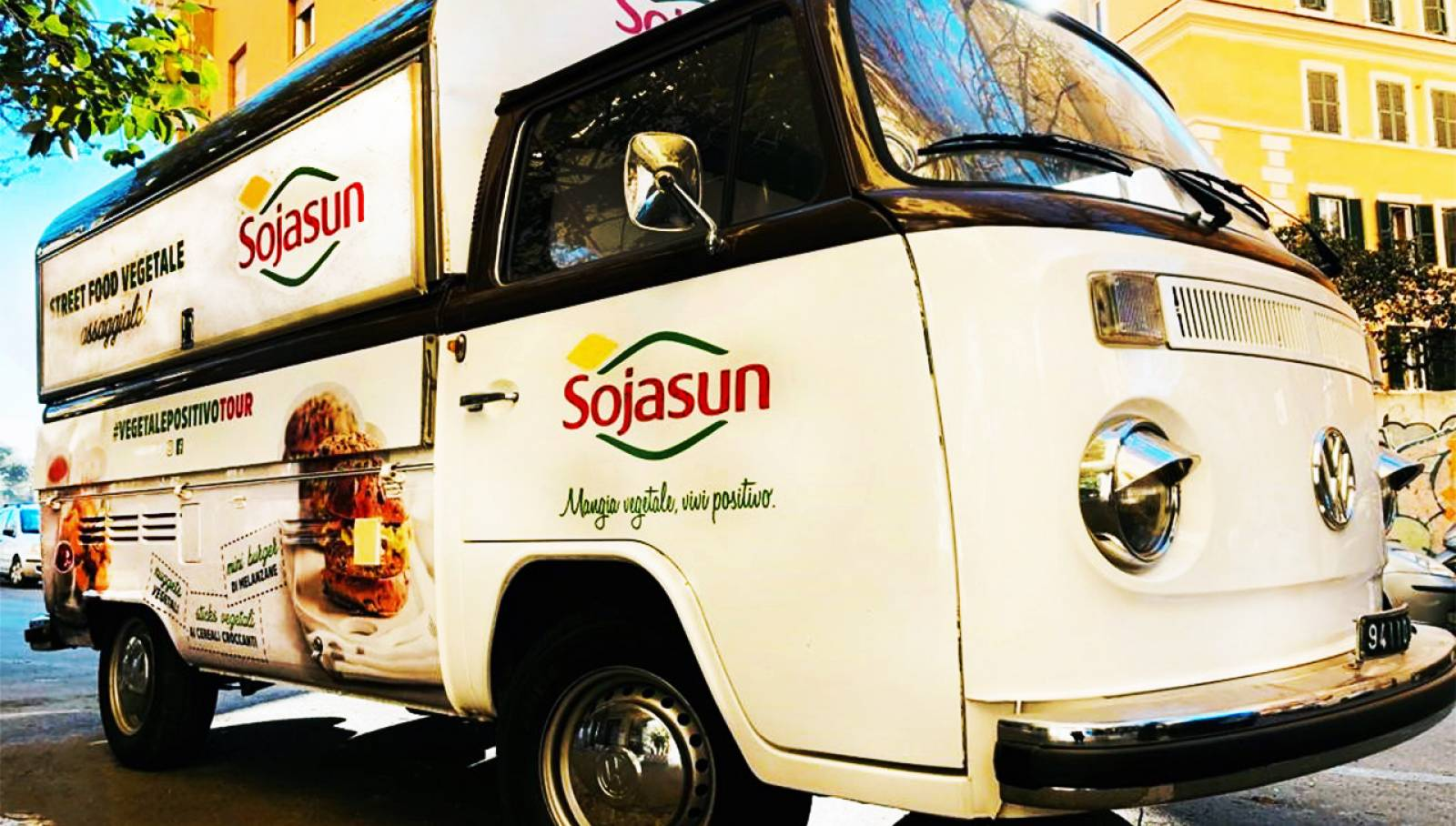 Van #vegetalepositivotour Sojasun IGPDecaux LIVE