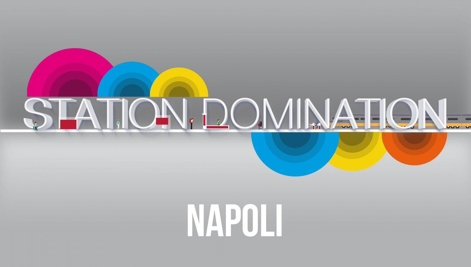 Station domination IGPDecaux Napoli