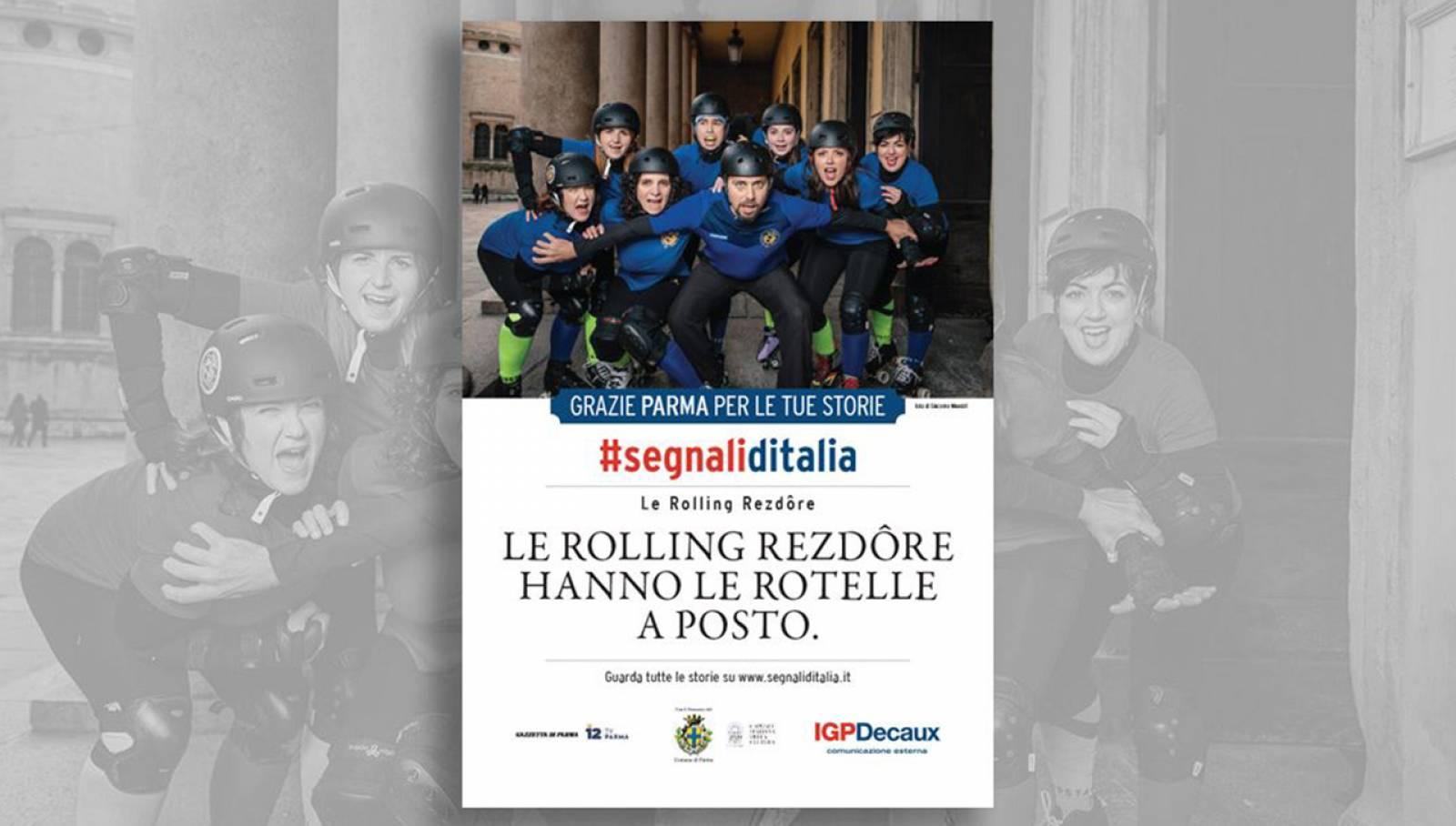 Segnali d'Italia thanks Campaign IGPDecaux Parma
