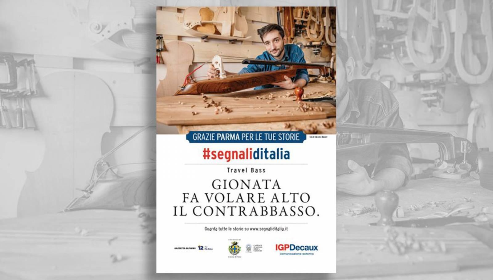 Segnali d'Italia thanks campaign Parma