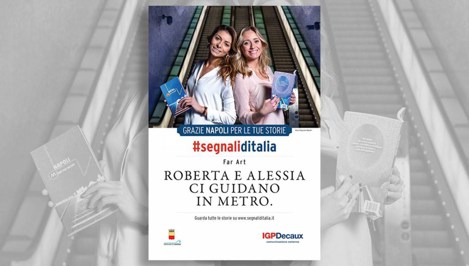 Segnali d'Italia thanks campaign in Naples for Far_Art