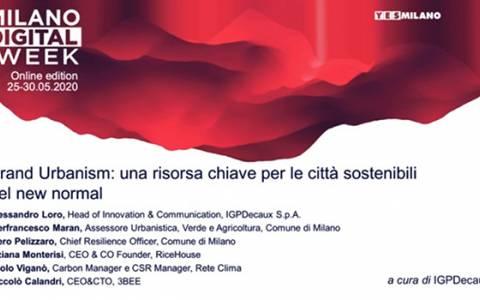 IGPDecaux porta il Brand Urbanism alla Milano Digital Week 2020: il video della tavola rotonda