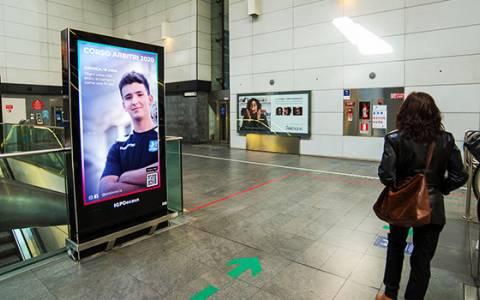 Nuovi impianti digitali nella metropolitana di Brescia con IGPDecaux
