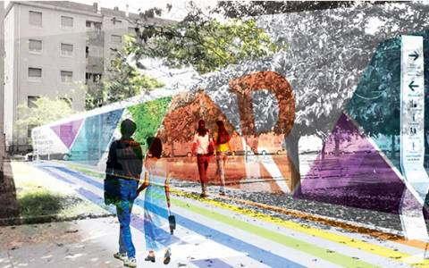 Playtime: a public space regeneration in the fragile urban contexts
