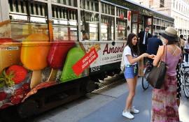 IGPDecaux Out of Home Tram Speciale per Sammontana Milano
