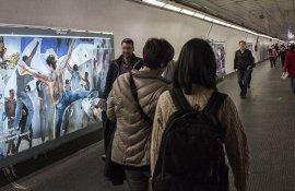 Make love not wall Vicolo del Bottino Roma @IGPDecaux