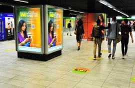 Western Union Station Domination Milano