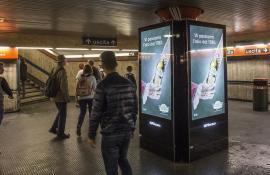 FARCHIONI OLII FARCHIONI -  17/10/2016 - circuito digital metro - ROMA