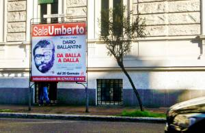 Outdoor advertising IGPDecaux Rome 1 to 5 Sheet Panels for Umberto Sala