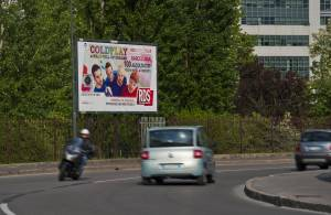 billboards advertising IGPDecaux Posters in Milan for RDS